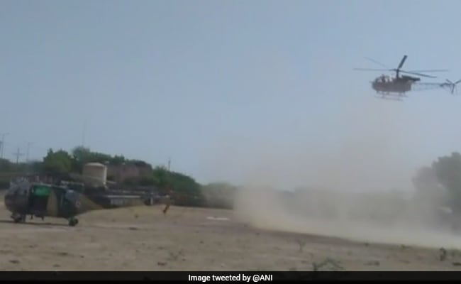 2 Army Helicopters Make Emergency Landing Near Court Complex In Rajasthan