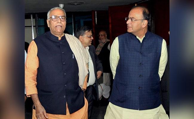 यशवंत सिन्हा ने फिर जाहिर की नाराजगी, पीएम मोदी से की वित्त मंत्री अरुण जेटली को हटाने की मांग