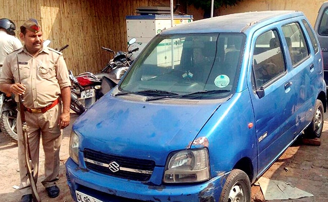 The famous blue WagonR was stolen from the Secratariat early this week