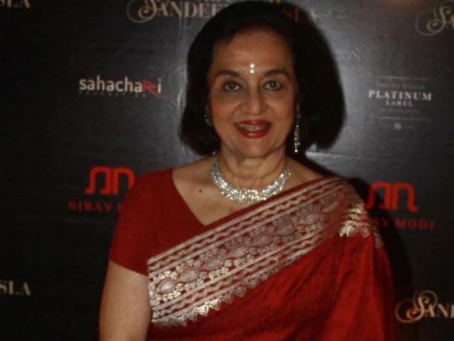 Why Asha Parekh Never Gets To Celebrate Her Birthday With A Glass Of Wine