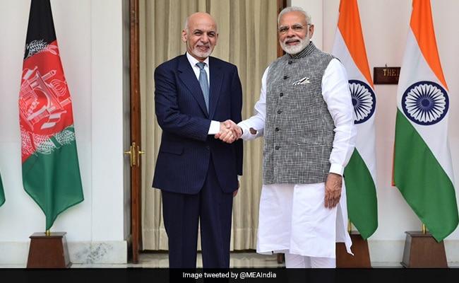 भारत की यात्रा पर अफगानिस्तान के राष्ट्रपति अशरफ गनी, पीएम मोदी से मिलकर आतंकवाद के खात्मे पर जतायी प्रतिबद्धता
