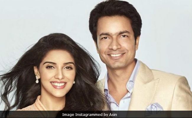 Akshay Kumar Shares First Pic Of Asin And Rahul Sharma's Daughter