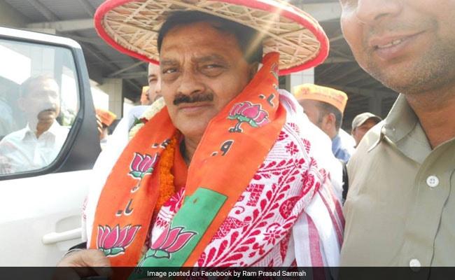 BJP Leader Ram Prasad Sarmah Quits Party Over Denial Of Ticket