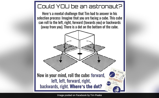 Could You Be An Astronaut? Step One, Solve This Puzzle Correctly