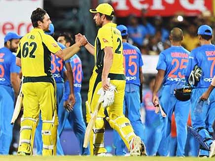 India vs Australia: Jason Behrendorff, Moises Henriques Help Visitors Earn Eight-Wicket Win, Level Series 1-1