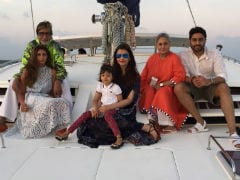 Amitabh Bachchan's Birthday Celebrations In Maldives. See Pic Inside