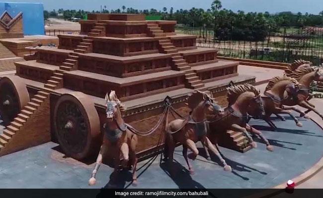 bahubali film set