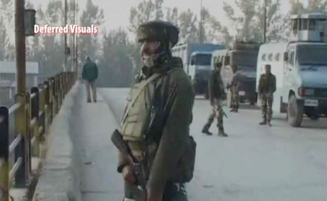 IAF personnel killed in gunfight with militants in Kashmir