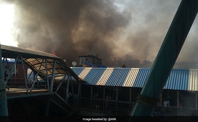 Huge Fire Reaches Bandra Railway Station LIVE Updates: Fire Now Under Control