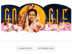 Begum Akhtar's 103rd Birthday: Google Celebrates With A Doodle
