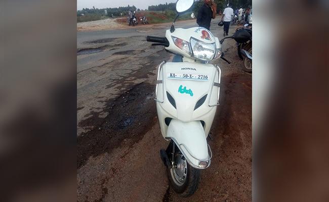 bengaluru pothole death