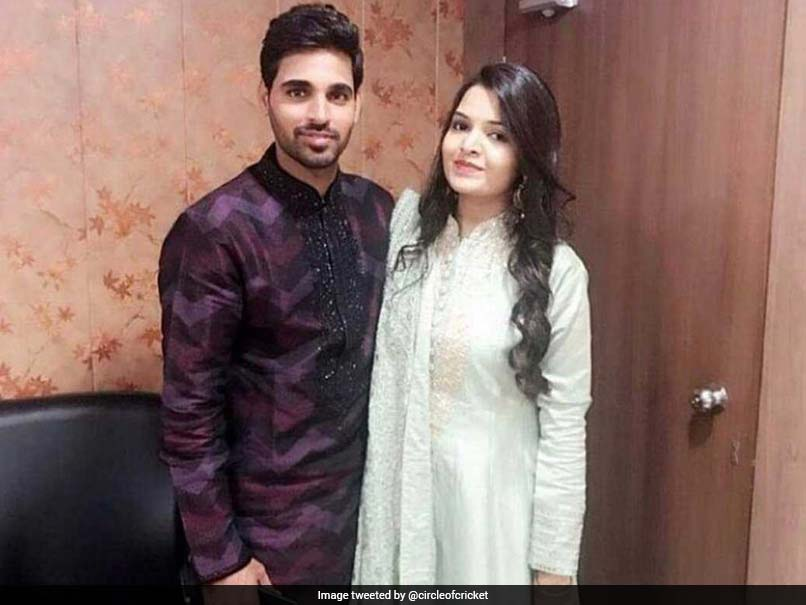 SEE PICS | Bhuvneshwar Kumar gets engaged to Nupur Nagar, shares emotional message