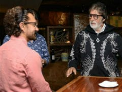 To Amitabh Bachchan, A Blockbuster Birthday Wish From 'Biggest Fan' Aamir Khan