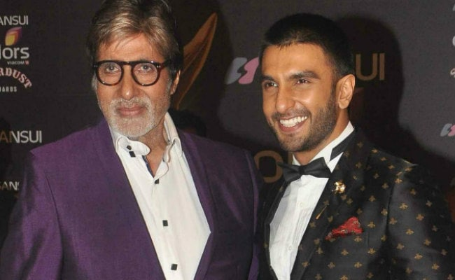On Amitabh Bachchan's 75th Birthday, Fanboy Ranveer Singh Tweets Best Wish Ever