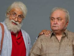 Amitabh Bachchan Wraps <i>102 Not Out</i> Shoot, His Film With Rishi Kapoor