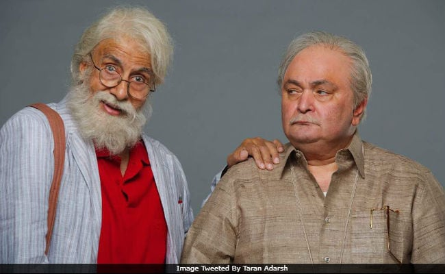 Amitabh Bachchan Wraps 102 Not Out Shoot, His Film With Rishi Kapoor