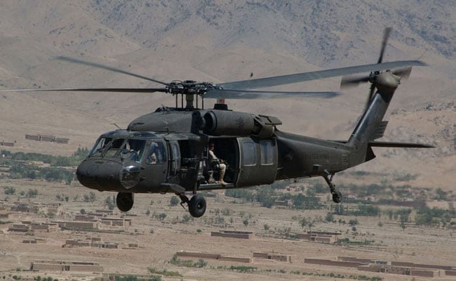 Afghan Air Force Gets Its Own Black Hawk Choppers