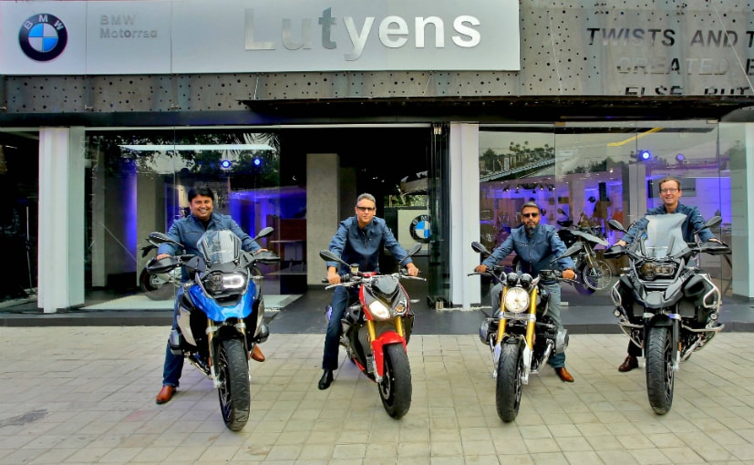 BMW Motorrad has inaugurated a new motorcycle dealership in Delhi, called Lutyens Delhi