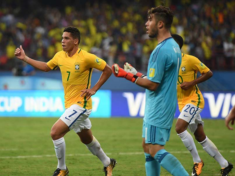 FIFA U-17 World Cup: Brazil Beat Spain 2-1 In Marquee Group Match