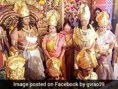 इस शादी में देवी लक्ष्मी बनकर पहुंची दुल्हन तो दूल्हा बना विष्णु, बारात में सभी बने थे 'भगवान'