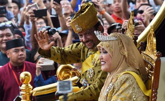 brunei 50 years on throne