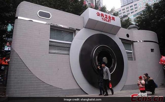 camera shaped toiley