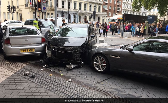 LIVE UPDATES: Several Injured As Car Rams Pedestrians Outside London's Natural History Museum