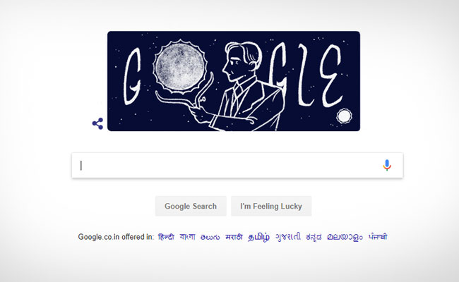 'चन्द्रशेखर सीमा' के लिए प्रसिद्ध थे सुब्रह्मण्यन् चन्द्रशेखर, गूगल ने इस अंदाज में किया याद