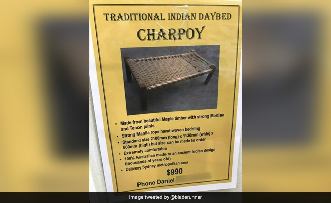 Australian Ad For Desi Charpai Is Viral. Wait Till You See What It Costs