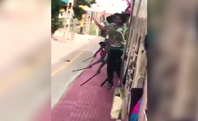 Hanging Out Of Moving Train, Chennai Students Filmed Showing Off Knives