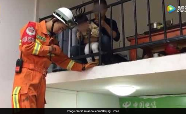 Boy Gets Head Stuck In Railing, Father Trolled For Filming Rescue