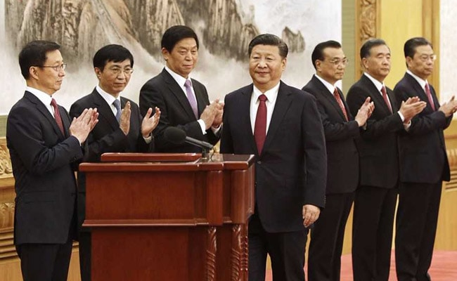 The Seven Men Who Will Rule China For The Next Five Years