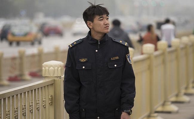 china public security volunteer afp