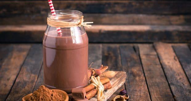 चॉकलेट हेजलनट मिल्कशेक