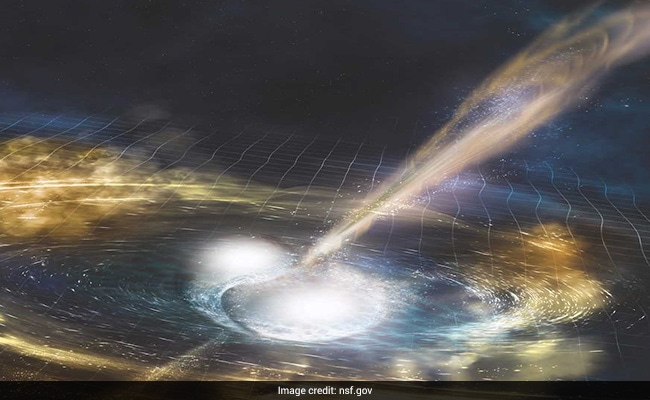 Was gravitational waves from the merger of two neutron stars