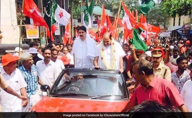 Kodiyeri's yatra hits roadblock over his Mini Cooper jaunt