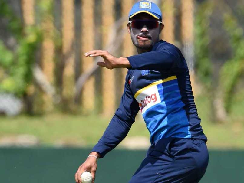 Danushka Gunathilaka suspended by SLC on account of misconduct