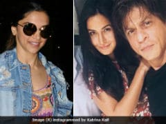 Deepika Padukone Shoots For Shah Rukh Khan, Katrina Kaif And Anushka Sharma's Film. Rani, Kajol, Sridevi To Follow Suit