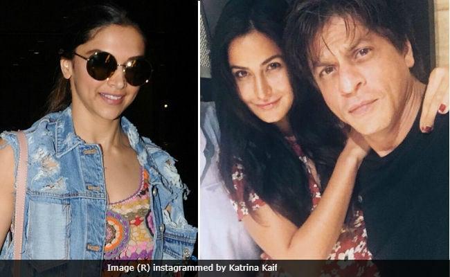 Deepika Padukone Shoots For Shah Rukh Khan, Katrina Kaif And Anushka Sharma's Film. Rani, Kajol, Sridevi To Follow Suit
