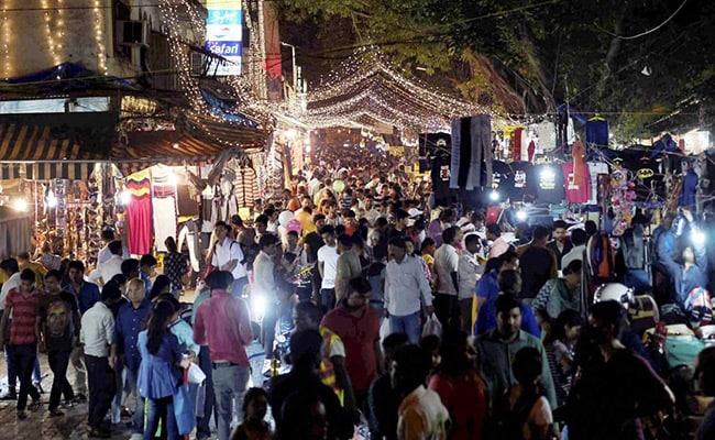 delhi diwali shopping pti