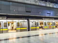 Man Jumps In Front Of Moving Train At Delhi Metro Station, Hospitalised
