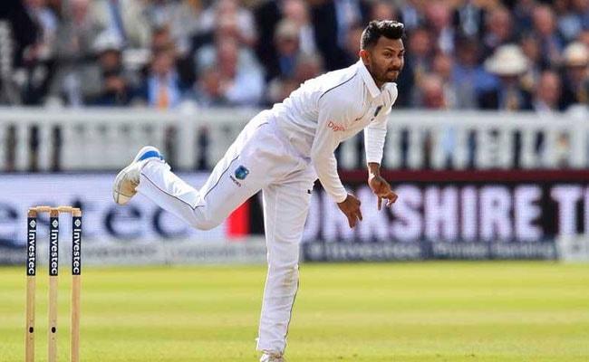 बिशू की शानदार गेंदबाजी से पहले टेस्ट में वेस्टइंडीज ने जिम्बाब्वे को 117 रन से हराया