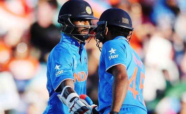 dhawan and rohit