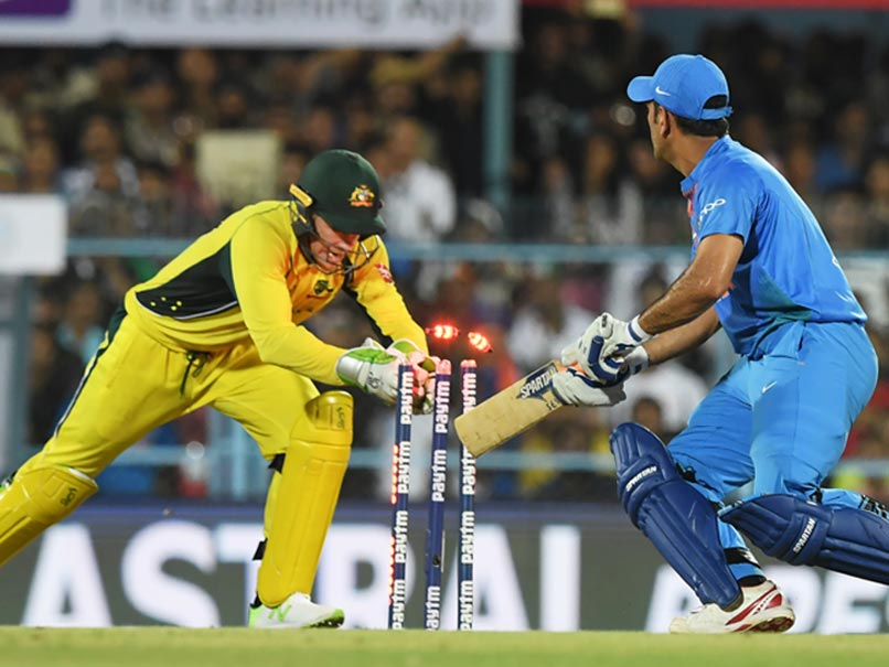 Heres Something You Havent Seen About MS Dhoni In 80 T20Is