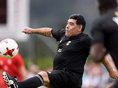 Diego Maradona's Match Against Sourav Ganguly To Be Held On October 9
