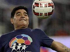 सुरक्षा कारणों के चलते फुटबॉल स्टार डिएगो माराडोना का कोलकाता दौरा फिर टला