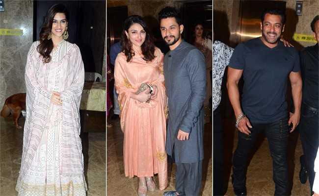 New Mom सोहा अली खान पति के साथ पहुंची इनकी दीवाली पार्टी में...