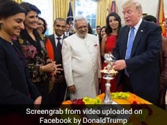 Trump Celebrates Diwali, Says 'Value My Strong Relationship With PM Modi'
