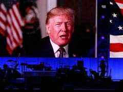 In Rare Show Of Unity, Trump Joins Ex-Presidents For Relief Concert