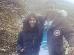 Pics From Sara Ali Khan's <i>Kedarnath</i> Shoot, Posted By Ekta Kapoor